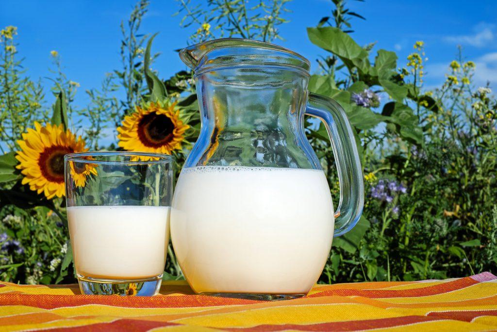 Pyszny surowiec – mleko